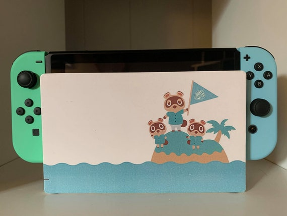 Animal Crossing New Horizons Nintendo Switch Dock Sticker Etsy