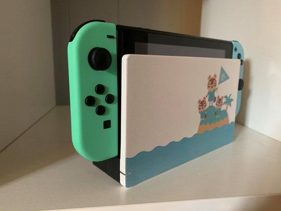Animal Crossing New Horizons Nintendo Switch Dock Sticker Etsy