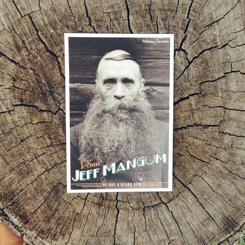 I Saw Jeff Mangum // Postcard image 0