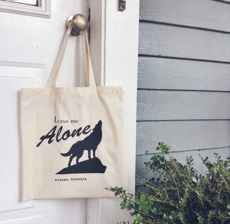 Lone Wolf Tote image 0