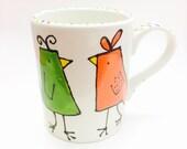 Bright Birds Mug