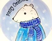Hand Painted Polar Bear C...