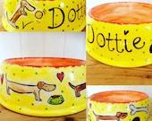 Personalised Dog Bowl...
