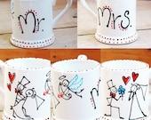 Set of 2 Mr and Mrs Mugs...