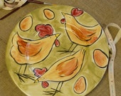 Large Country Kitchen Serving Plate