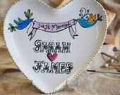 Heart Plate Wedding Gift...