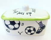 Personalised Butter Dish
