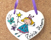 Fairy Bedroom door sign...