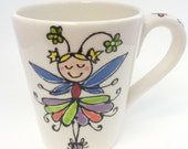 Girls Fairy Princess Birthday Mug