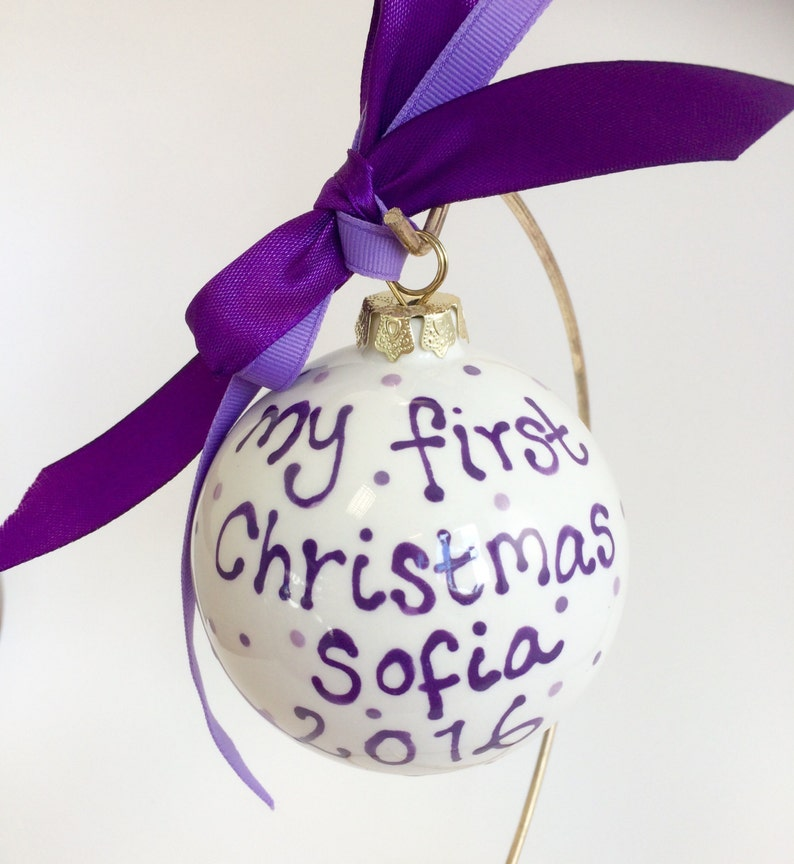 My first Christmas Bauble image 0