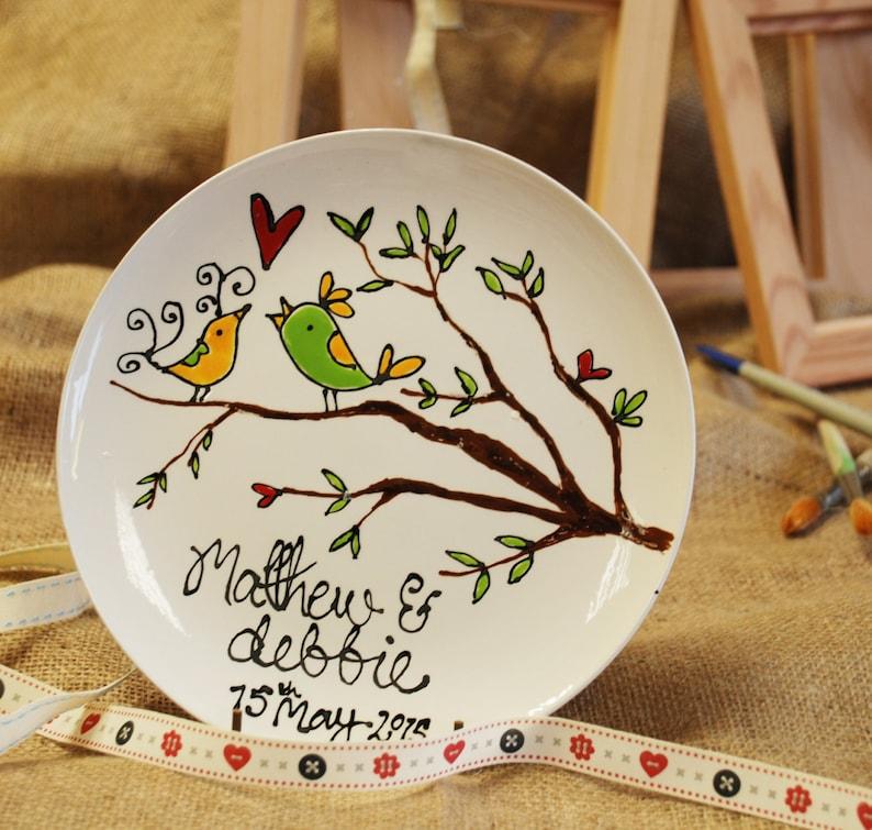 Personalised Wedding Plate image 0