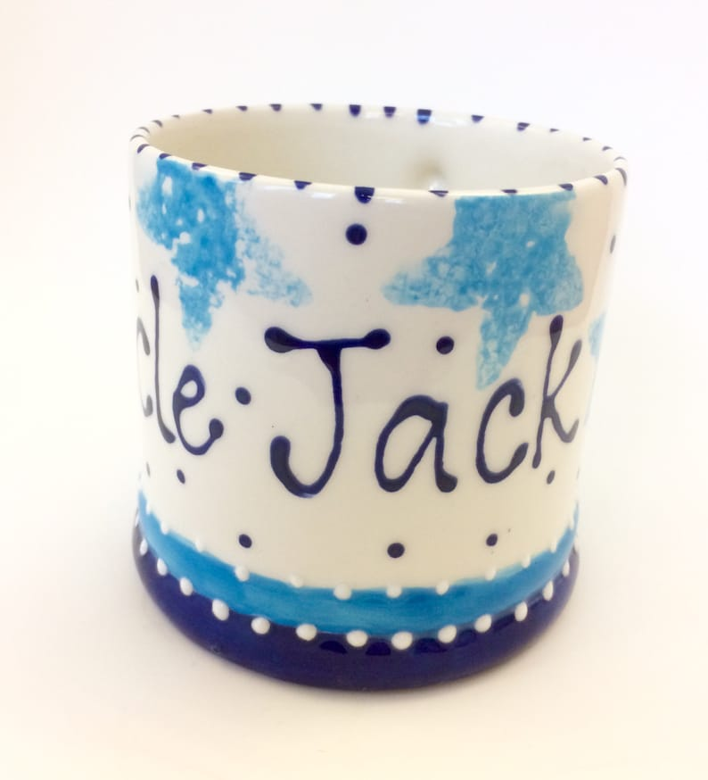 Personalised Mug with Stars image 0