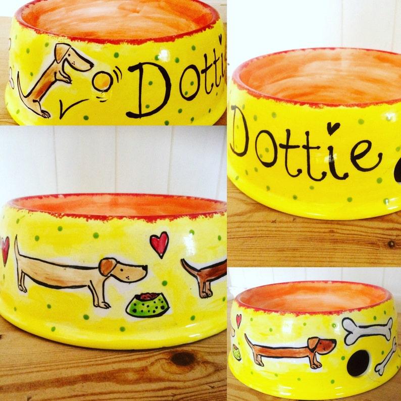 Personalised Dog Bowl image 0
