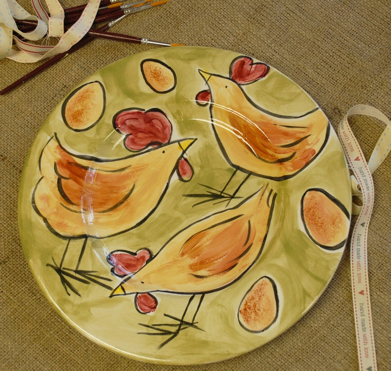 Large Country Kitchen Serving Plate image 0