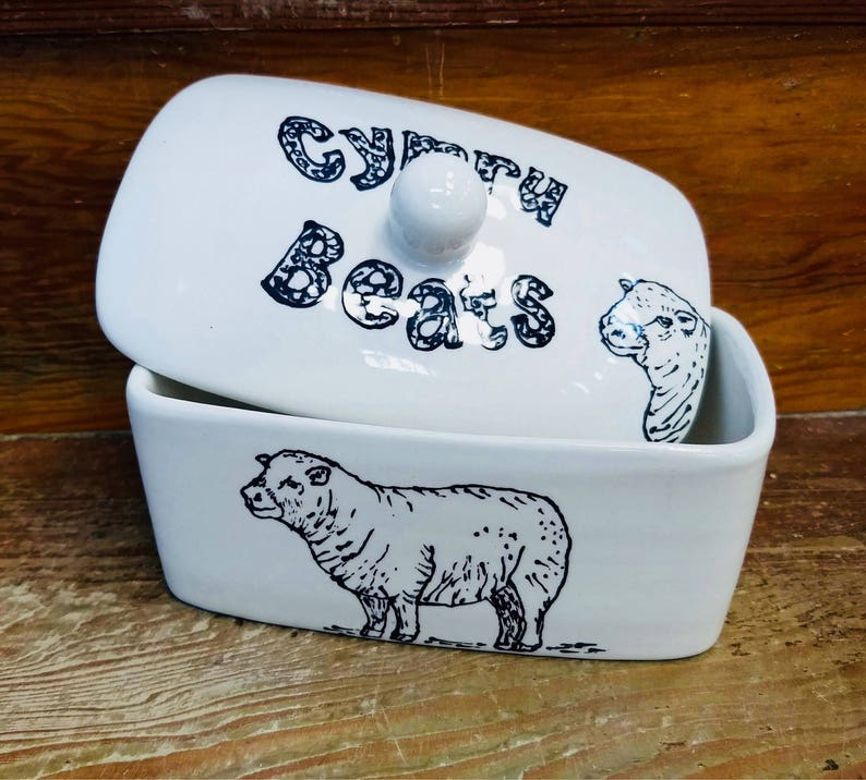Personalised Butter Dish image 0