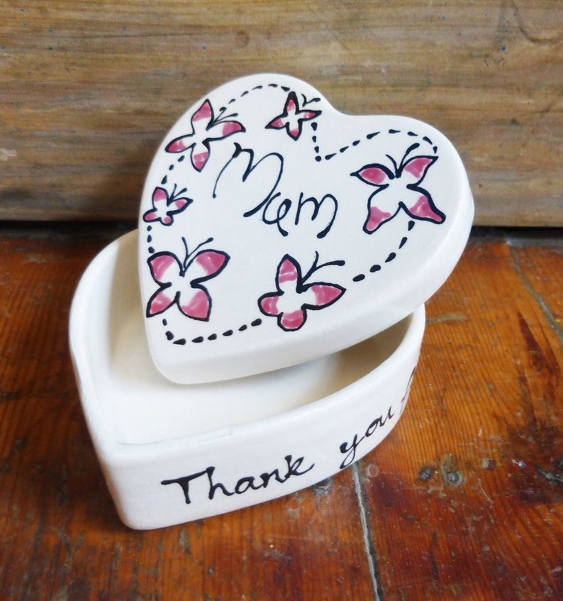 Personalised Heart Gift Box image 0