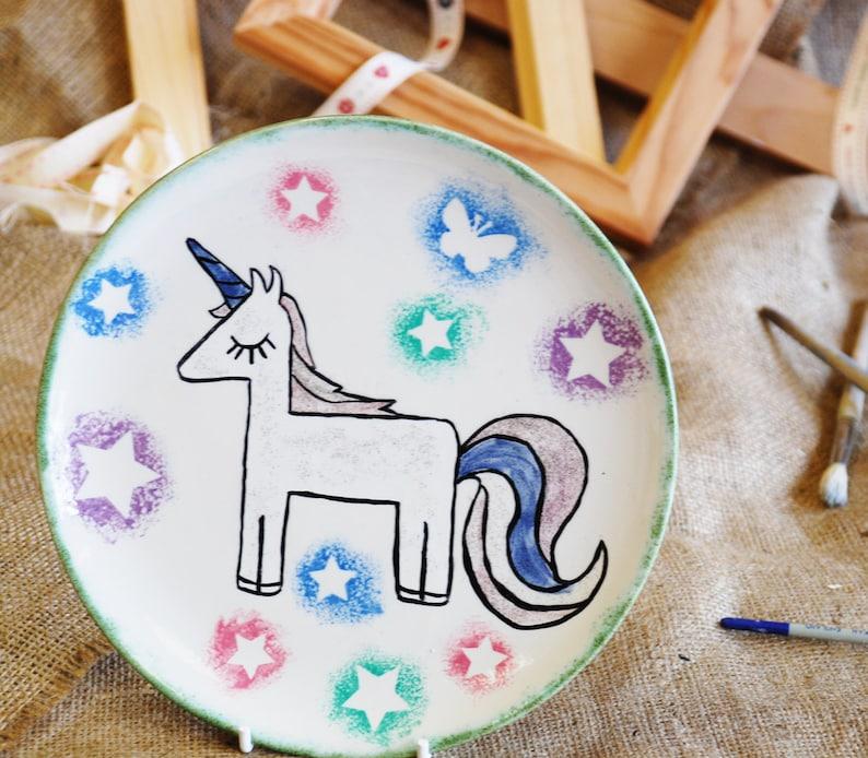 Unicorn Plate image 0