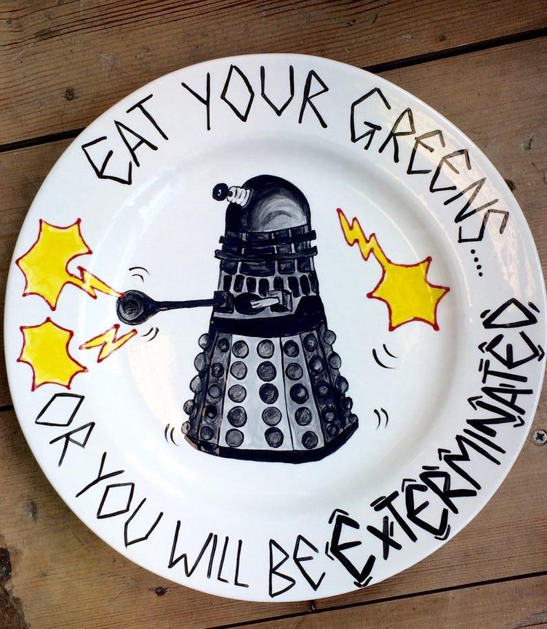 Dr Who Darlek Plate image 0