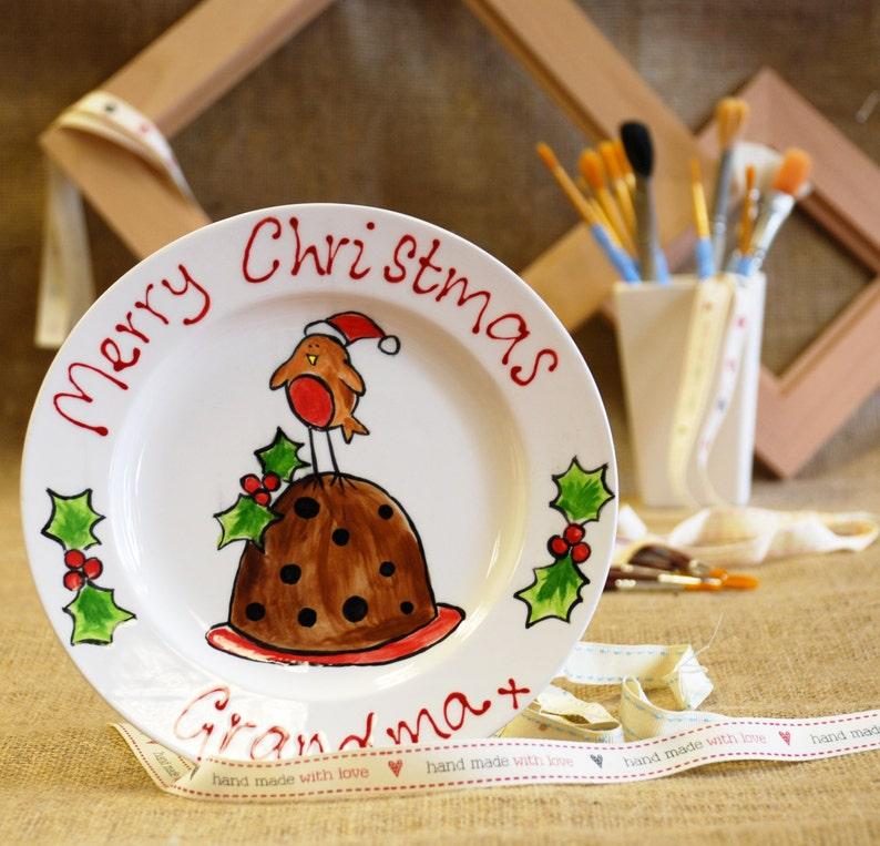Christmas Robin Plate image 0