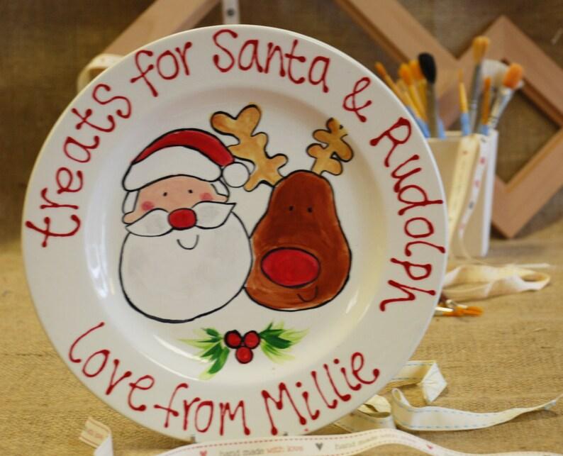 Personalised Christmas Plate image 0