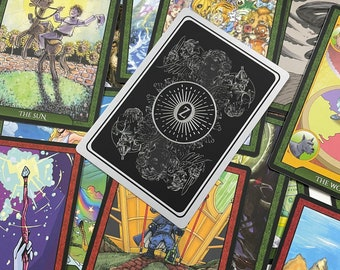 The Shadow of Oz Tarot Deck: The Baum Silver Edition