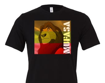 Mufasa Marley shirt | Disney Shirt | Lion King Shirt