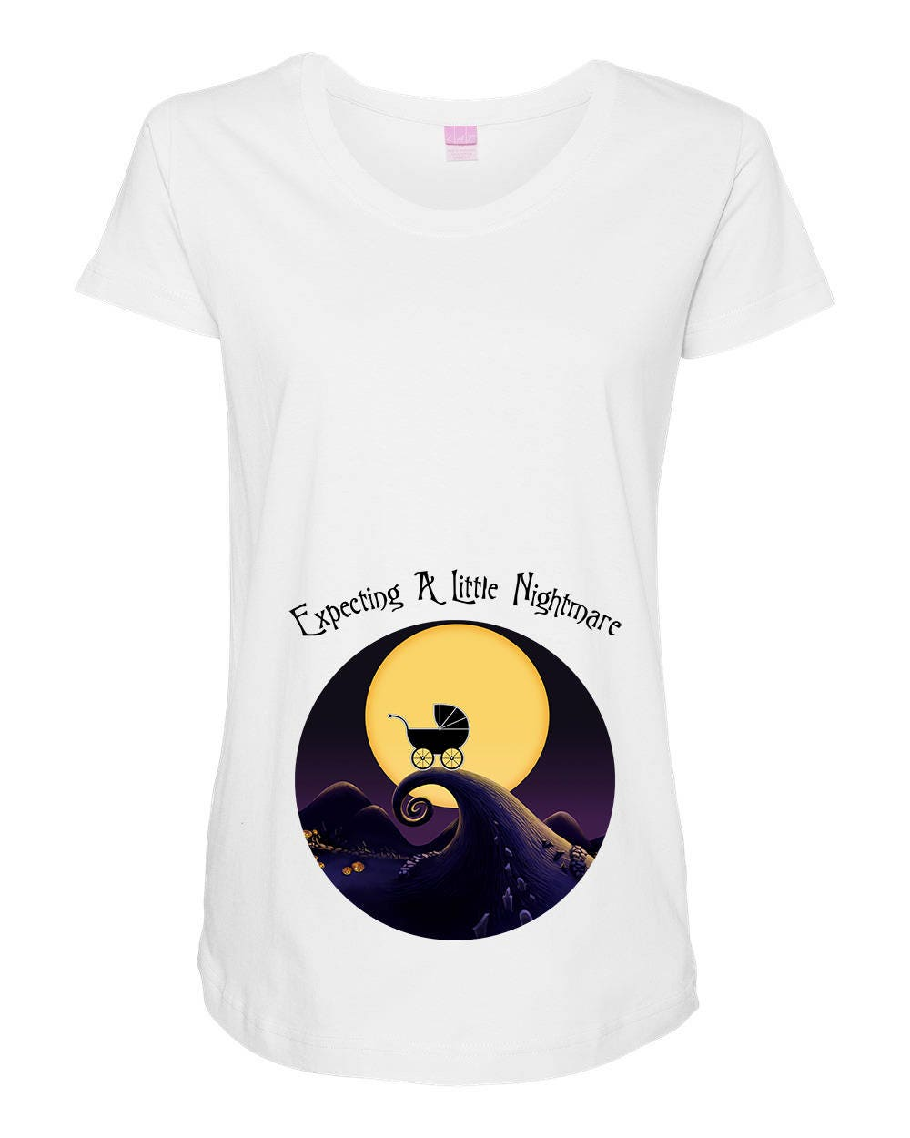 Nightmare Before Christmas Maternity shirt Disney Maternity | Etsy