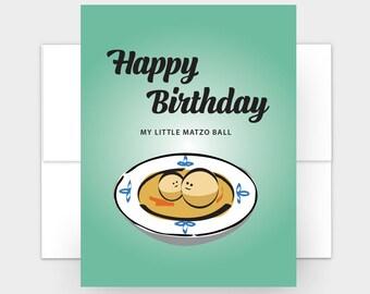 Jewish Birthday Card