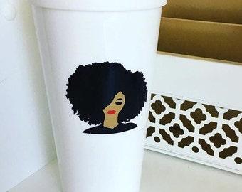 Black Girl Magic Coffee Cup, Coffee Cup, Black Girl Magic