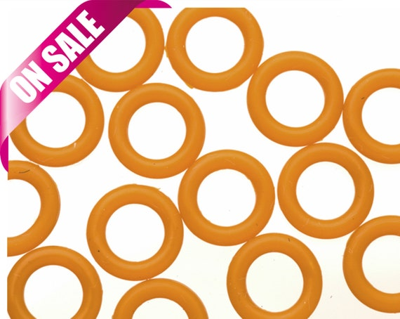 25pcs Mud O Ring For Flat Licorice Leather 8x2mm Etsy