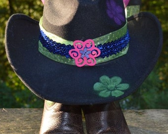 Prettiest Hawked Up Cowgirl Twelve Hat.... EVER!