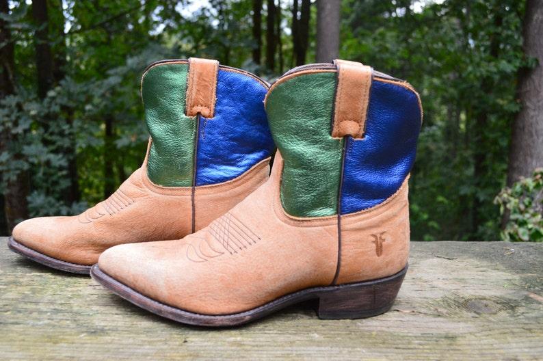 5ec9e8594f2 Western Boot Booties Size 10 Frye Billy Short Women's | Etsy