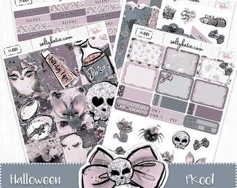 Planner Stickers - Halloween Weekly Planner Sticker Kit - Halloween Sticker Kit - Erin Condren Planner Stickers - ECLP Stickers - Halloween