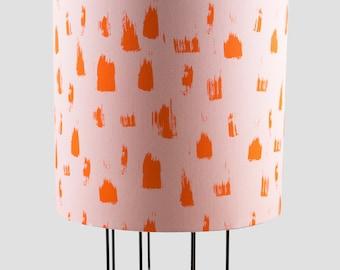 Brush Lampshade in Pink