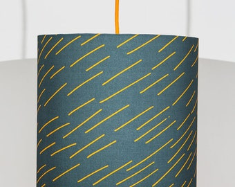 Brand Lampshade in Navy