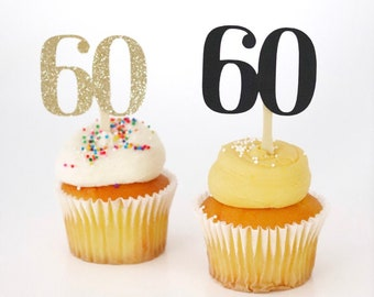 Age Cupcake Toppers! Milestone Birthday Cupcake Toppers!