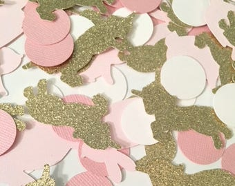 Bunny and Unicorn Confetti! Birthday Party, Spring Confetti-Bunny Confetti-Unicorn Confetti, Unicorn Party