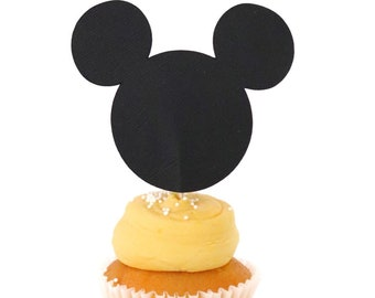 Mickey Mouse Cupcake Topper! Mickey Mouse Birthday!