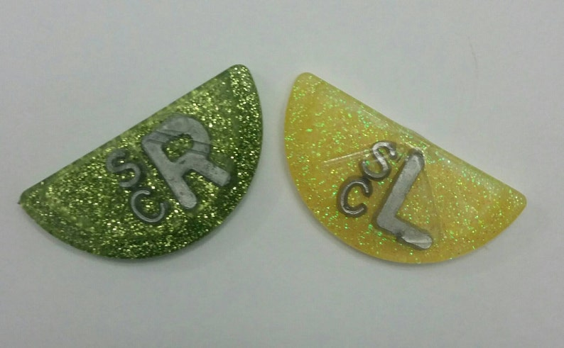 Lemon and Lime x-ray markers!