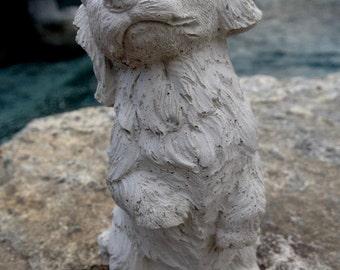 Concrete Corgi Statue Dog Statues Garden Statues Concrete