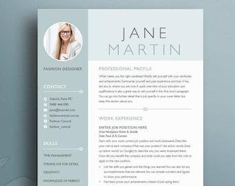 Resume Boutique Template Bundle 21 Creative Resume Templates | Etsy
