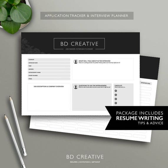 boutique resume template 15 modern creative professional cv etsy
