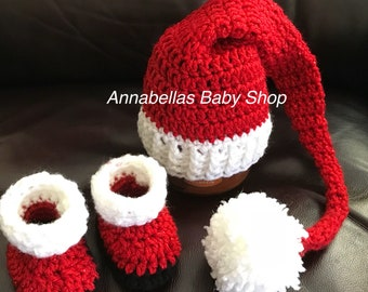 389347ced1d11 Santa Hat and Boots