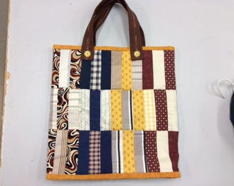 Large Quilted Shopping Bag/Tote