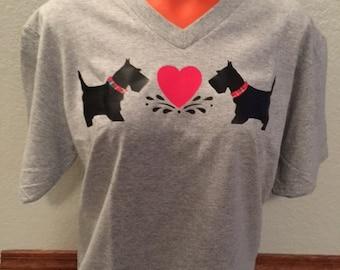 T-Shirt coeur Scottie