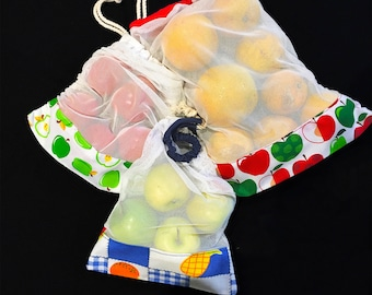 Green bags reinforced for fruits and vegetables
