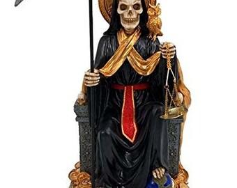 Santa Muerte Statue Etsy