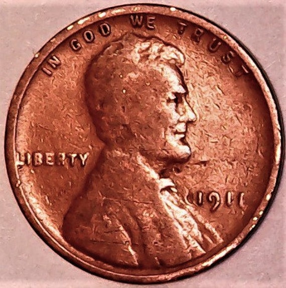 10/% of 6+ 1917 D Lincoln Wheat Penny