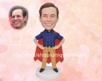 Personalized Monogram Custom Bobblehead dolls   Great for Father's Day or Groomsman Gift