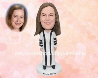 40th birthday gifts for women - Custom Bobblehead dolls - gift for wife, girlfriend, sister or best friend